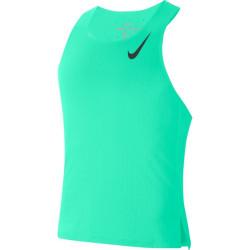 Nike Aeroswift Tank Green Glow/Black