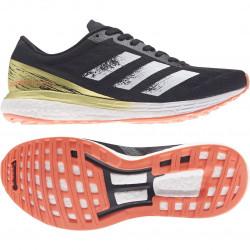 Adidas Adizero Boston 9 W Noir/Orange/Gold