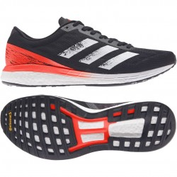 Adidas Adizero Boston 9 Noir/Blanc/Rouge