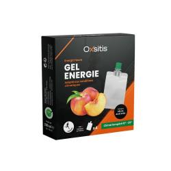 Oxsitis Pack 4 Gels Energiz'Heure Climat Tempéré Pêche