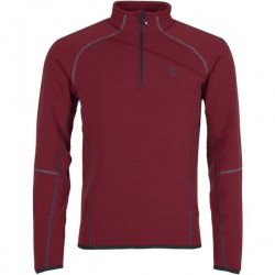 Ternua Camiseta Magik 1/2 Zip Rumba Red