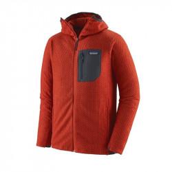Patagonia M's R1 Air Full Zip Hoody Hot Ember