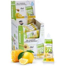 Overstims Energix Bio Gel Liquide Miel Citron