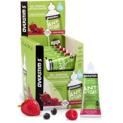 Overstims Gel Antioxydant Liquide Fruit rouge