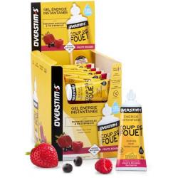 Overstims Gel Coup de Fouet Liquide Fruit Rouge