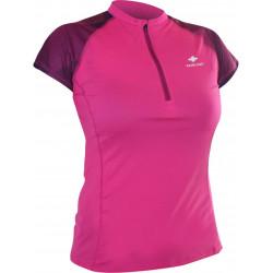 Raidlight Activ Run SS Shirt Mid Zip W