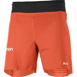 "Salomon S/Lab Sense 6"" Shorts M Racing Red/Black"