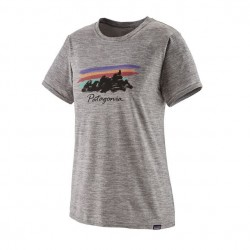 Patagonia W's Cap Cool Daily Graphic Shirt Gris